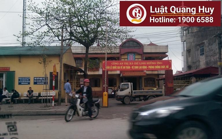 Công an thành phố Chí Linh