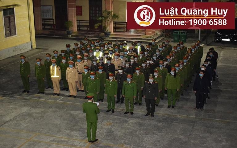 Công an thị xã Duy Tiên