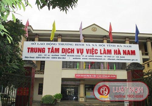 Trung tâm dịch vụ việc làm tỉnh Hà Nam