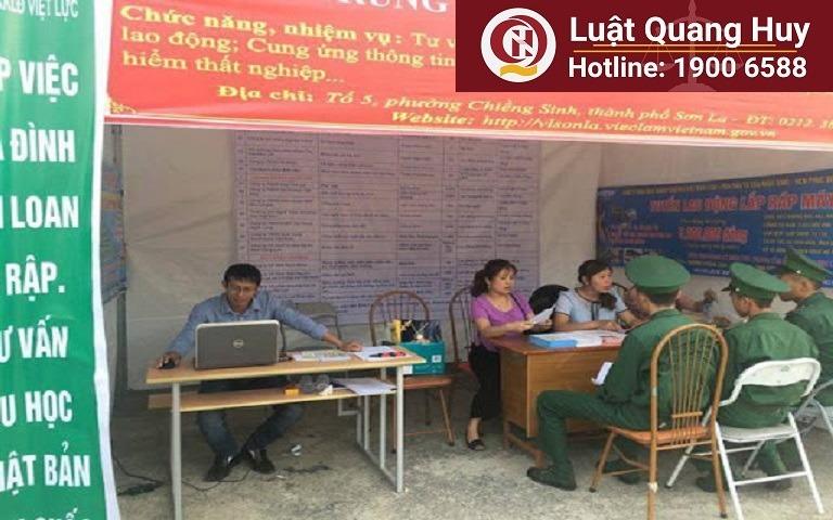 Địa chỉ hưởng bảo hiểm thất nghiệp tỉnh Sơn La