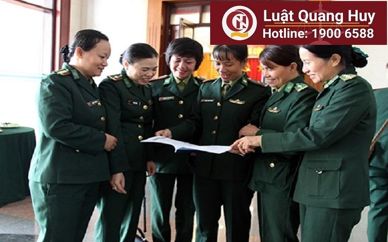Chế độ thai sản của nữ quân nhân theo quy định