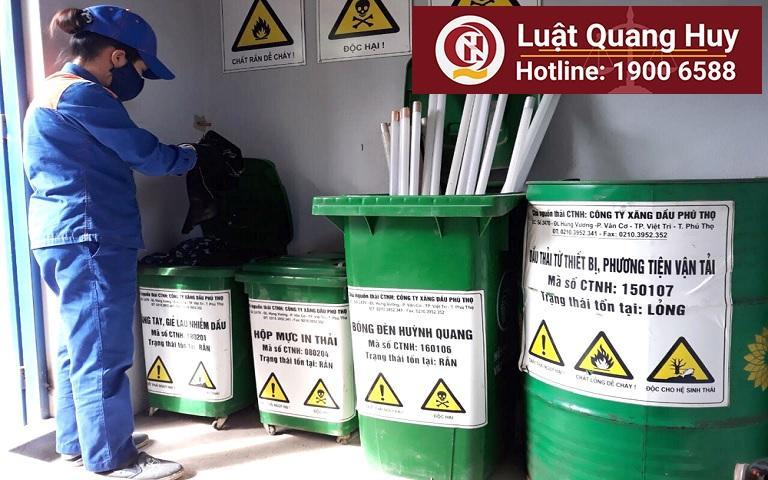 Đánh giá thực trạng pháp luật quản lí chất thải nguy hại