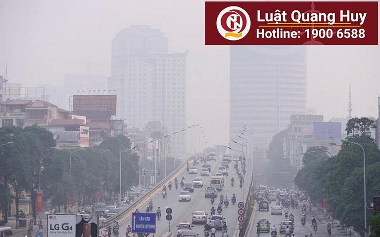 Kiểm soát ôm nhiễm không khí do các phương tiện giao thông