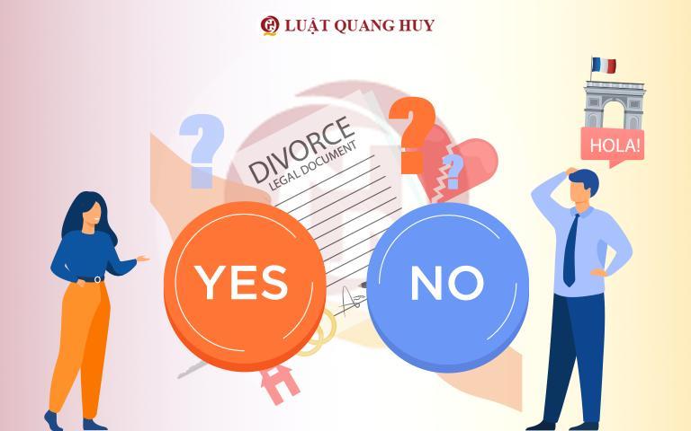Hai vợ chồng có thuận tình ly hôn khi chồng ở nước ngoài được không