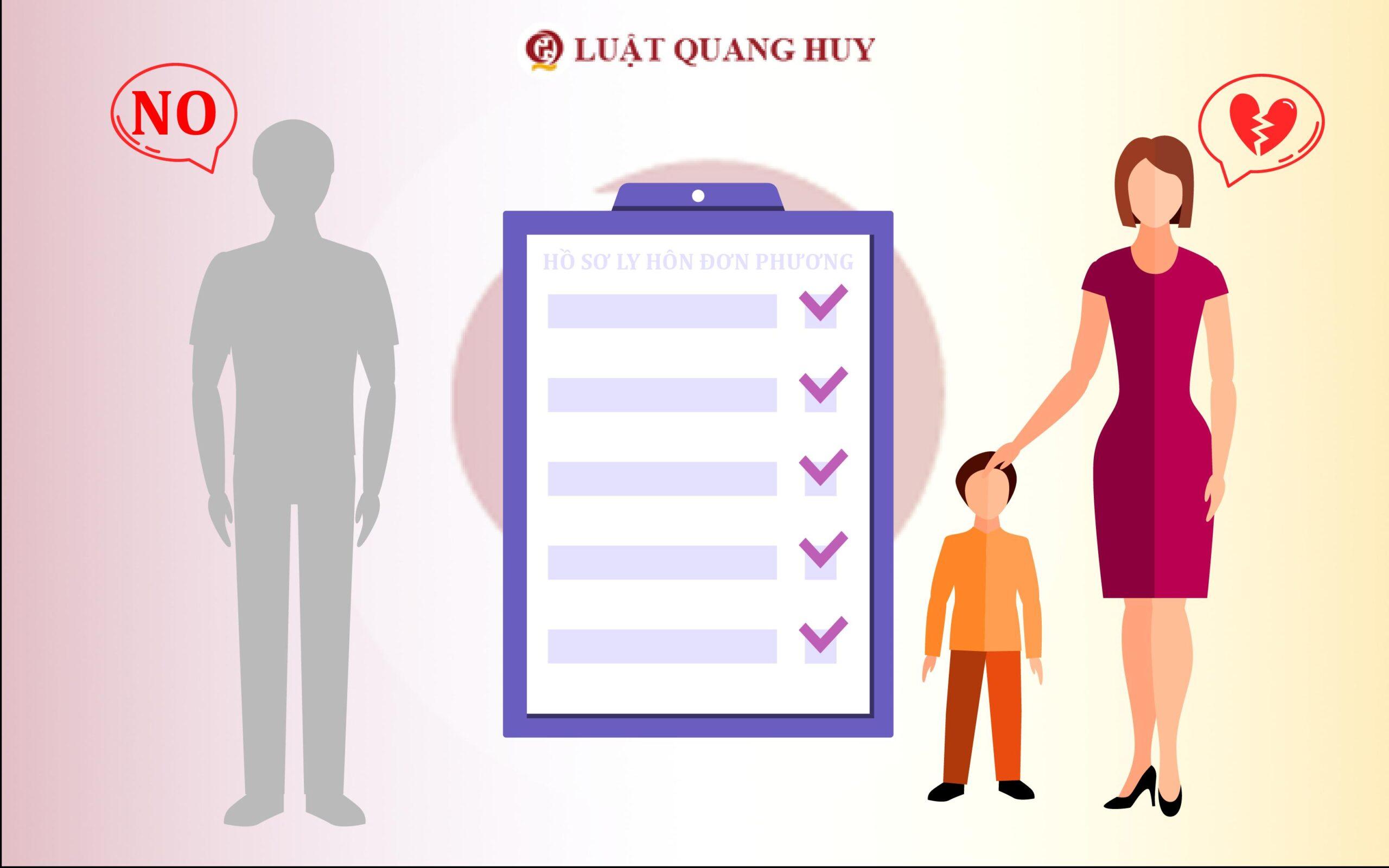 Hồ sơ ly hôn đơn phương