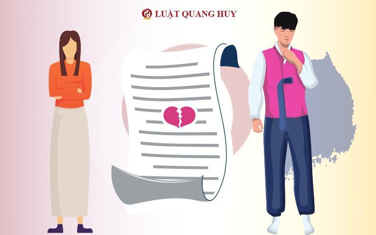 Hồ sơ yêu cầu giải quyết thuận tình ly hôn khi chồng ở nước ngoài