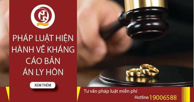 Pháp luật hiện hành về kháng cáo bản án ly hôn