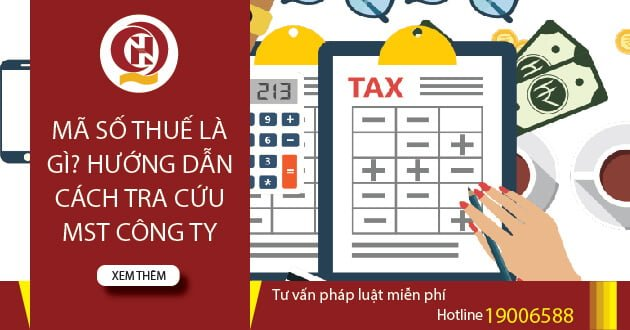 Mã số thuế công ty