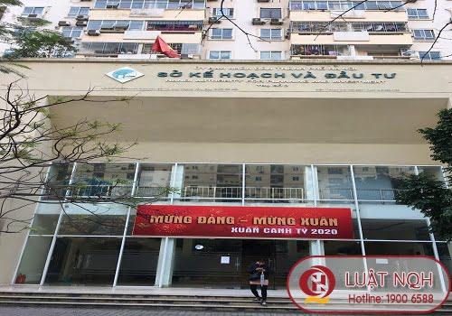 Thông tin địa chỉ phòng đăng ký kinh doanh thành phố hà Nội