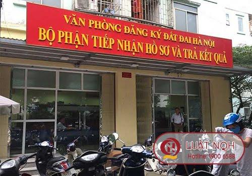 Văn phòng Đăng ký đất đai Hà Nội